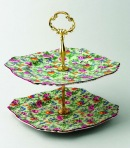 A 1930s Royal Winton 'Cranston' pattern cake stand