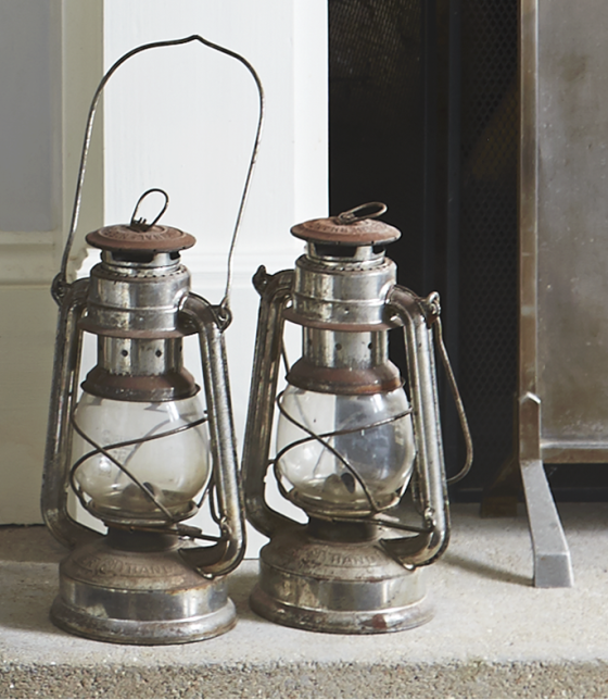 Ellie Tennant vintage lanterns