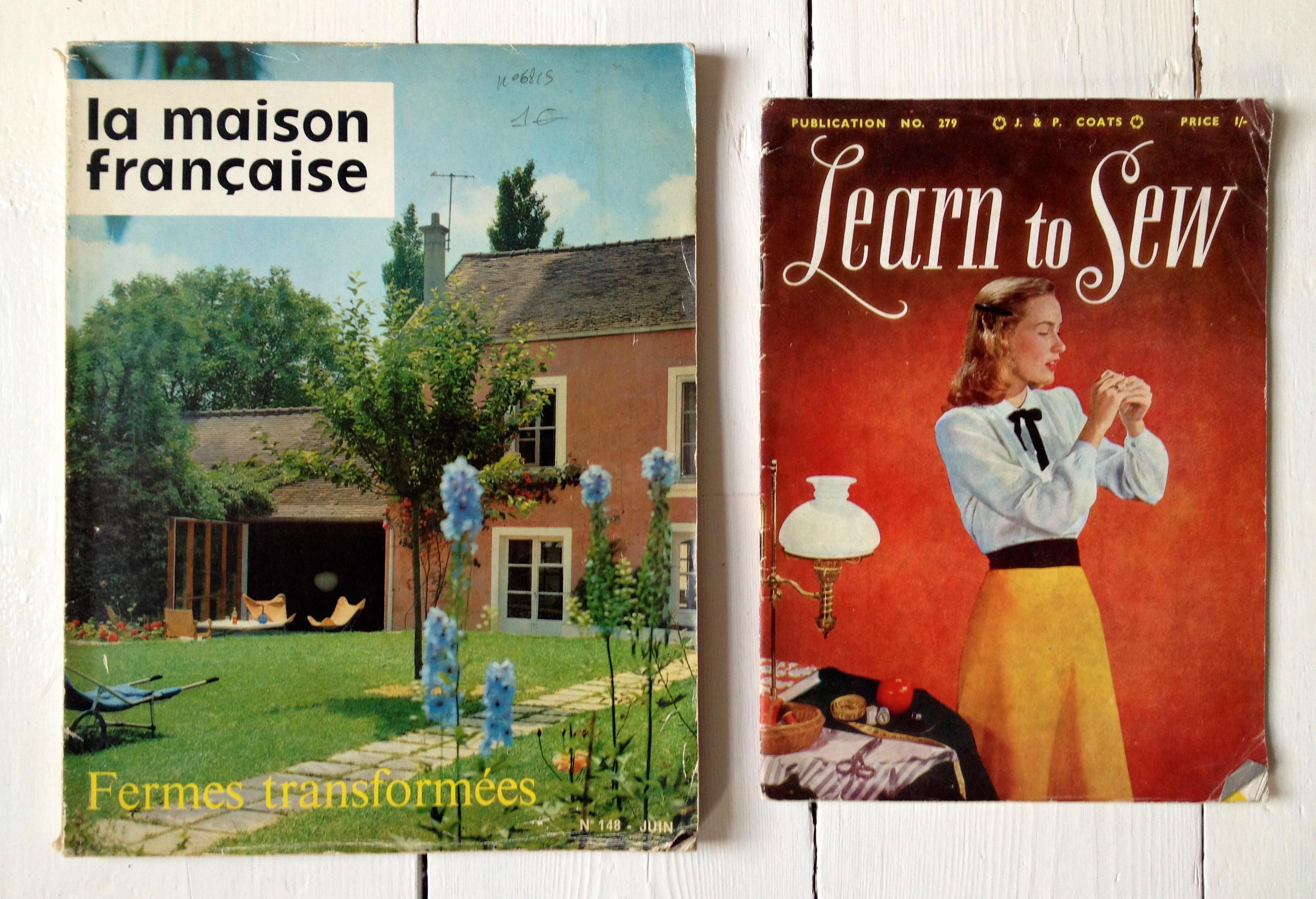 Vintage obsession 24 magazines iacf blog for Magazine maison francaise