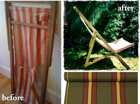 001 ellie tennant vintage deckchair project
